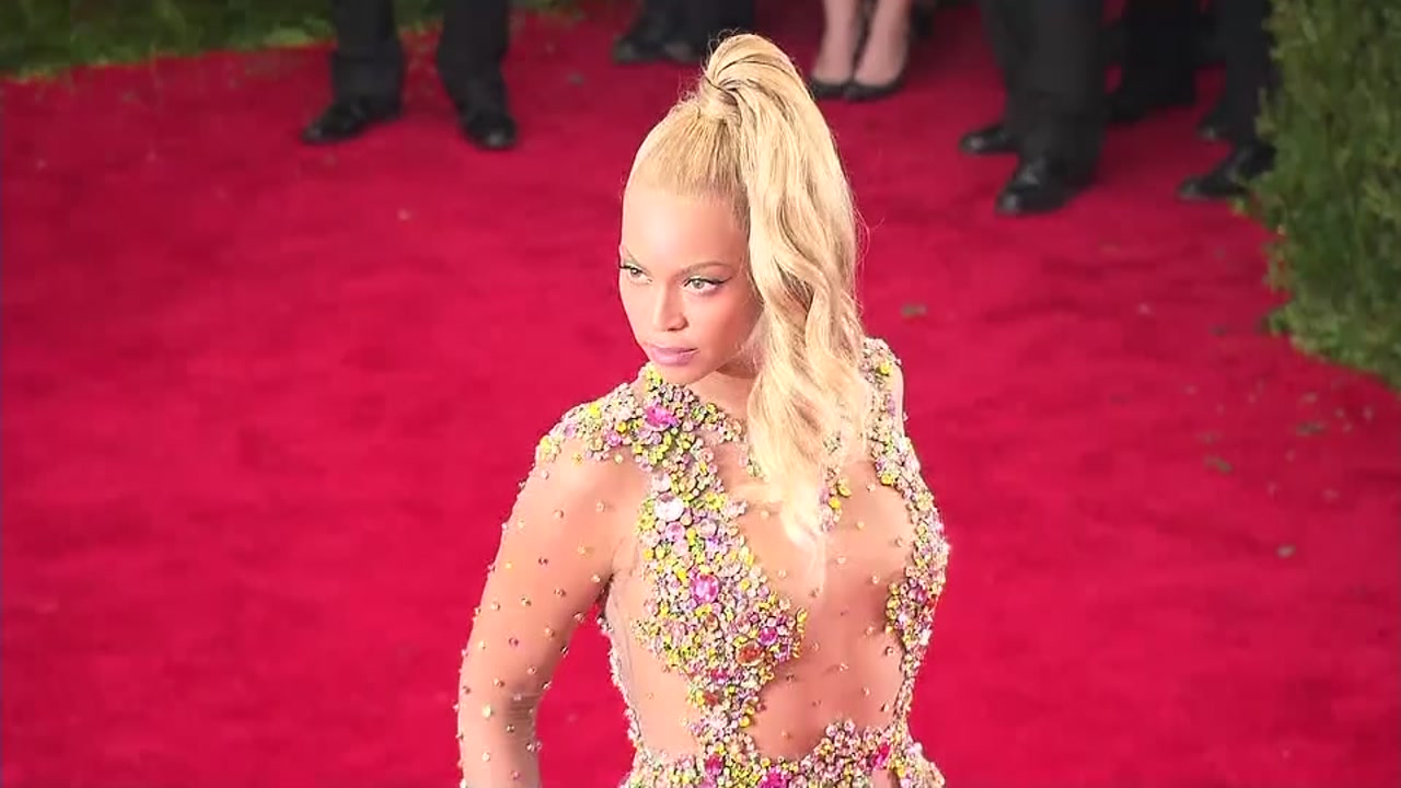 Beyonce gets sued by blind woman for being in violation of the American with Disabilities Act.