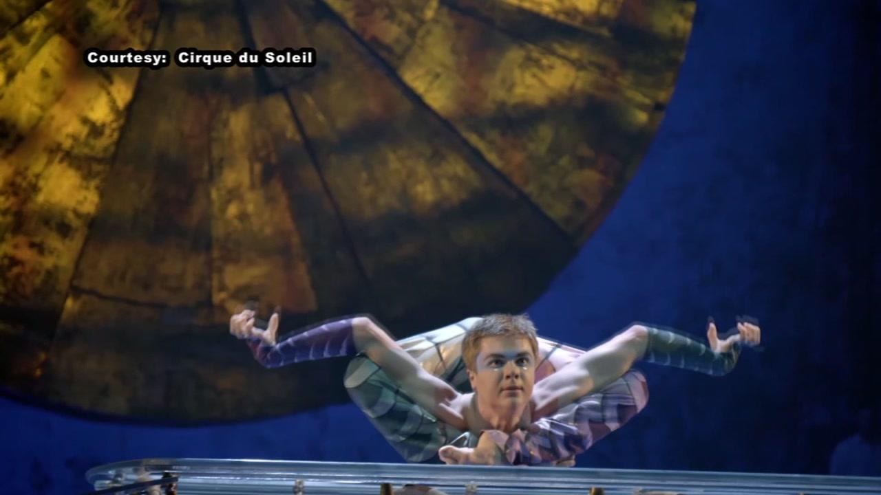 A look inside Cirque du Soleil.