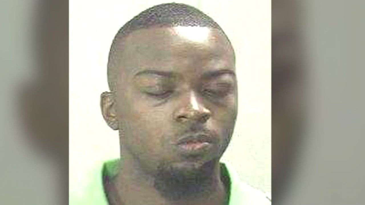 Brandon Edwards, 35, was arrested by police, who say he allegedly stabbed his son Bryson.