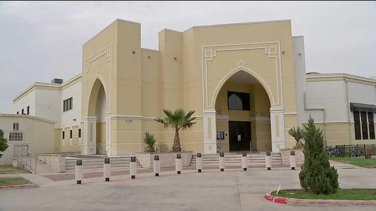 Harris County Sheriffs Office investigation gunshots fired at Mosque.