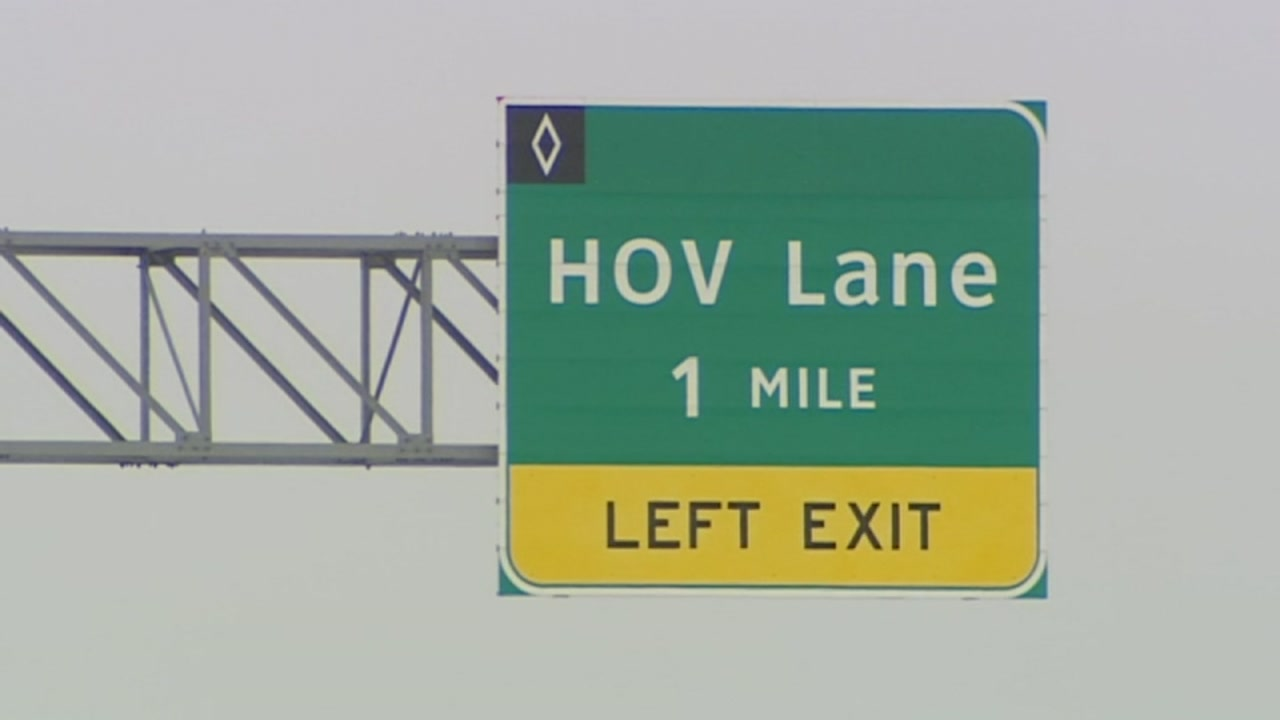 No increase for those who pay to use the HOV lane.