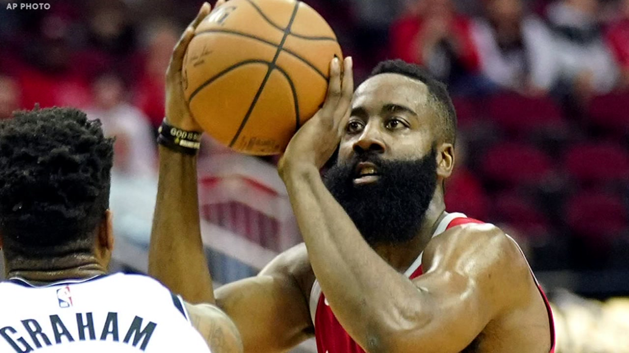 James Hardens 58 points not enough in Rockets OT loss vs. Brooklyn