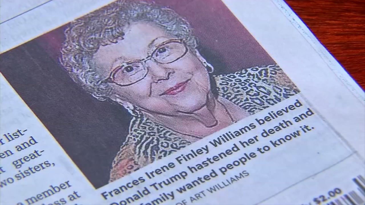 Newspaper censored womans obituary for being too political