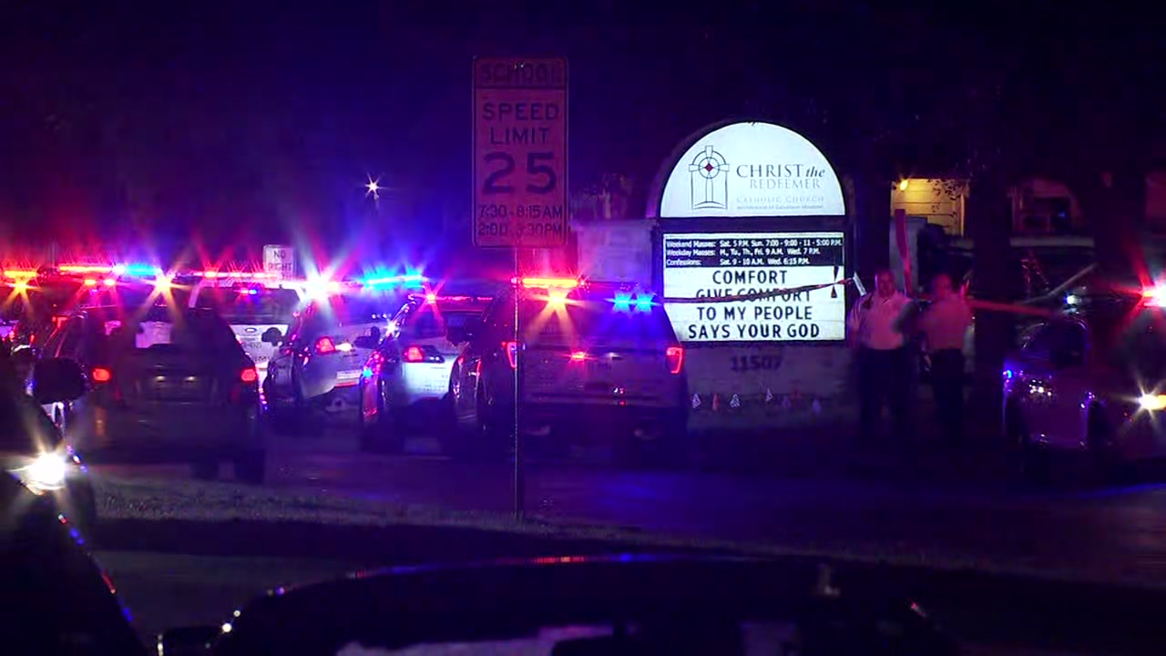 Witnesses recall shooting at Christ the Redeemer Catholic Church in Cypress