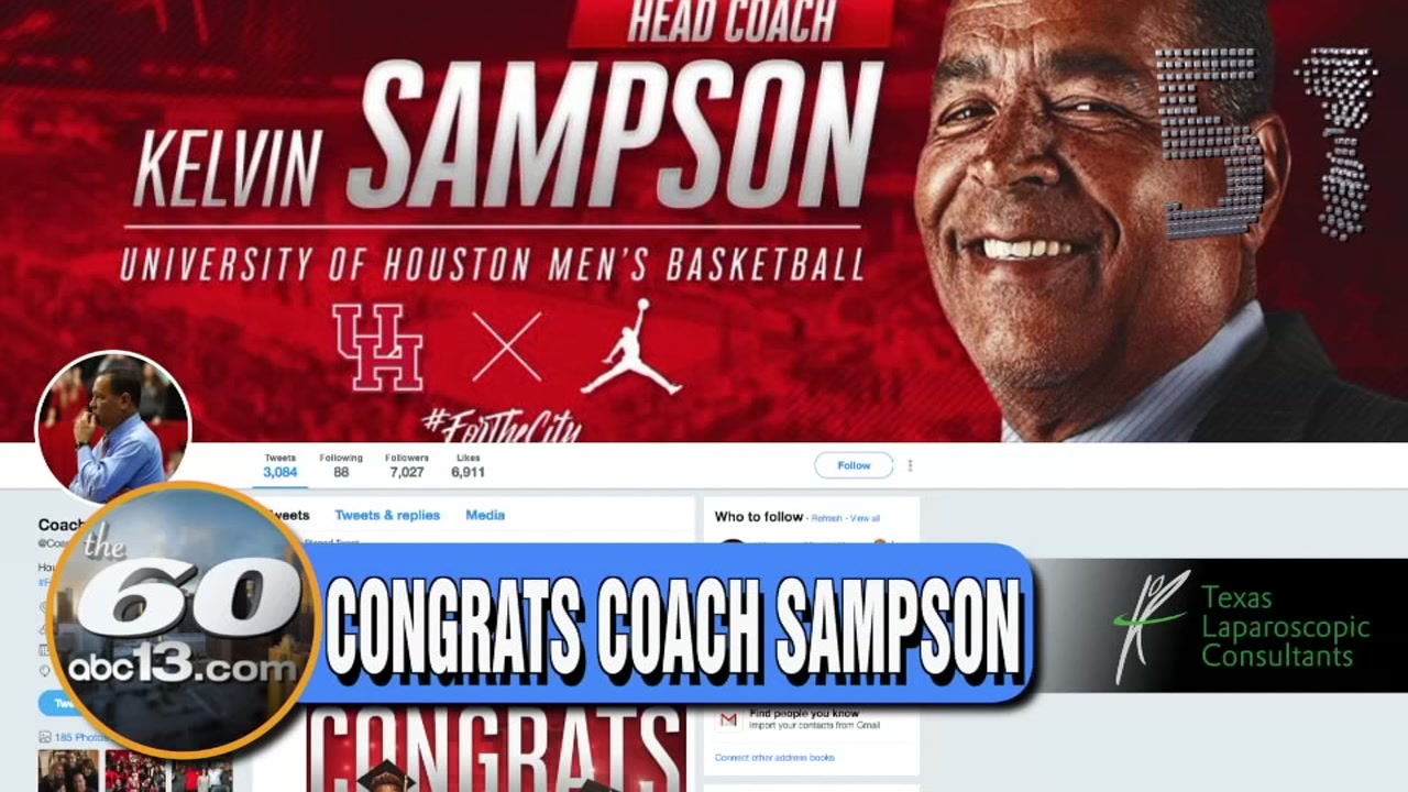 The 60: Big H-Town congrats to UH mens basketball coach Kelvin Sampson for his 600th career win