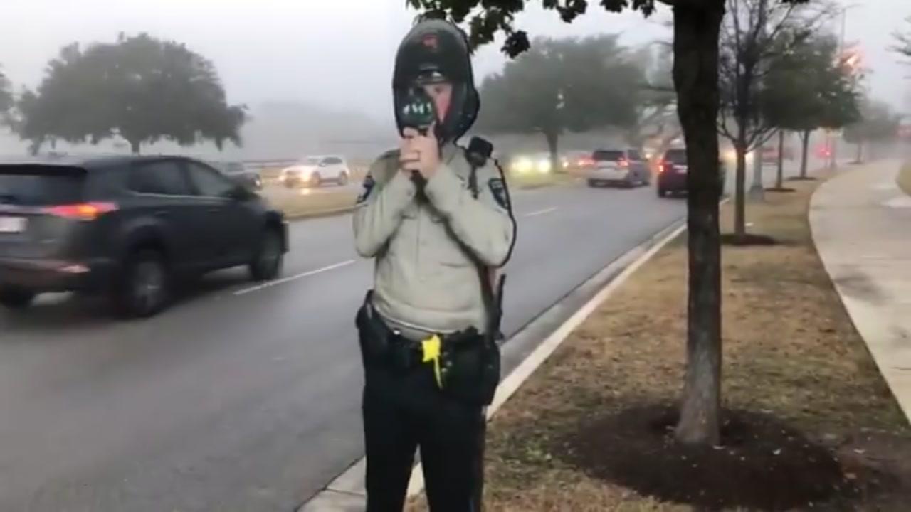 Texas county tries cardboard cutout cops to deter speeding