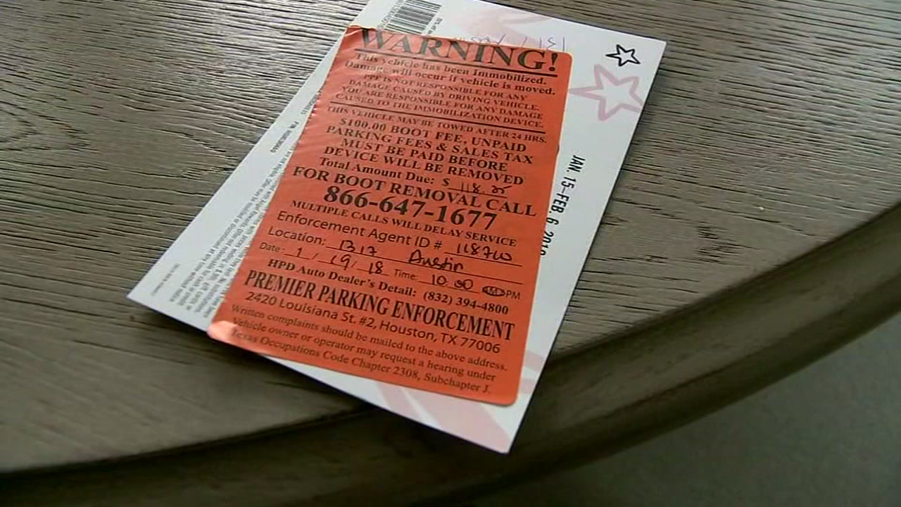 Runners beware! A marathon runner fell victim to a parking scam Saturday morning in downtown Houston.