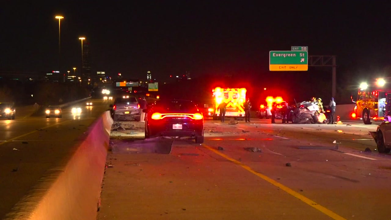 Deadly 5-car accident in west loop