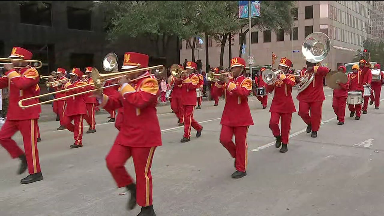 MLK Day Parade kicks off in downtown Houston.