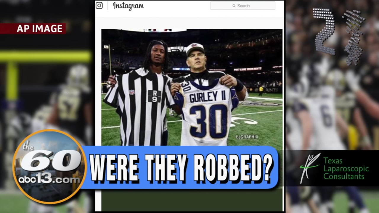 New Orleans Saints fans say they were robbed in the NFC Championship Game, but one Los Angeles Rams player seems to have zero problem with that.