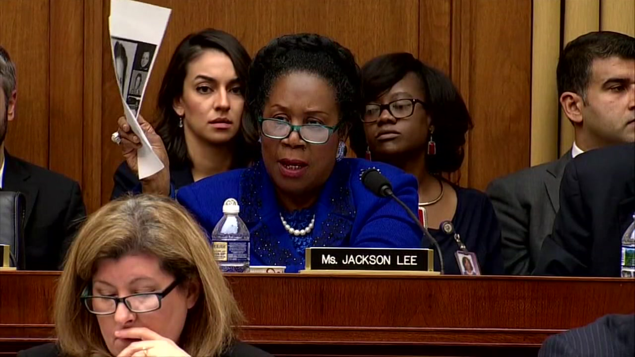 Sheila Jackson Lee steps down as House subcommittee leader