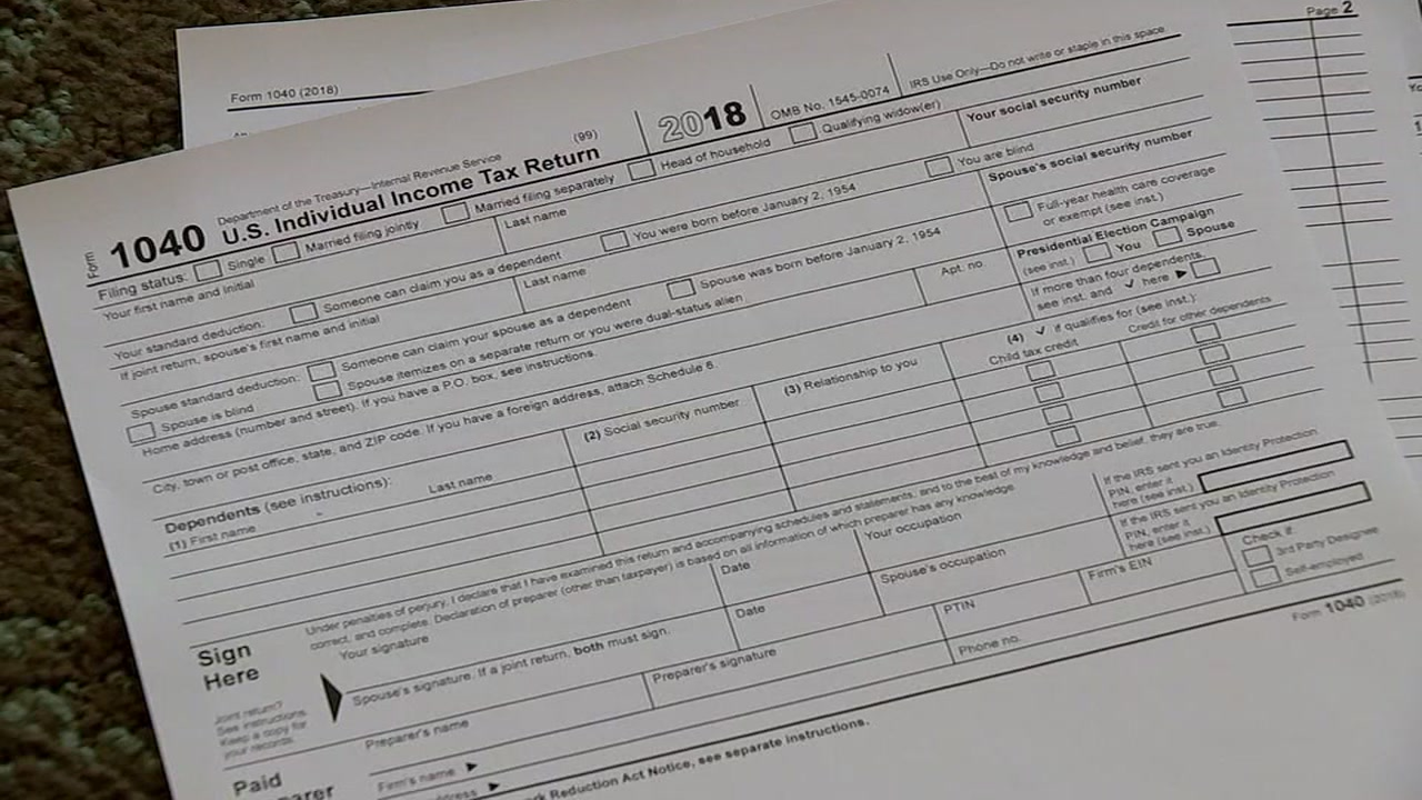 New changes for 2018 tax returns.