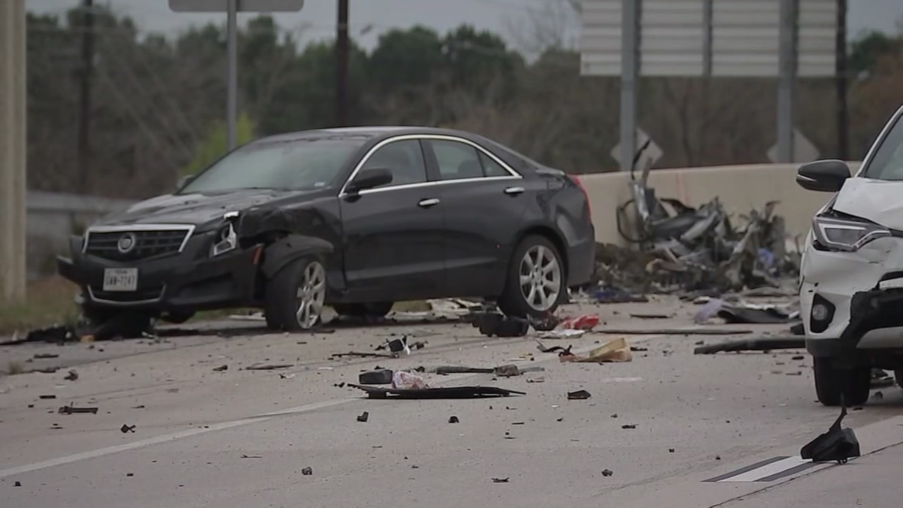Charles Blaze has been charged with manslaughter in the deaths of two people in a car accident on the Grand Parkway.