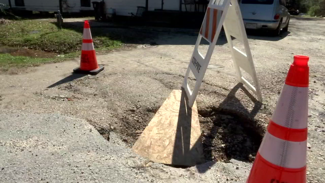 An Acres Homes grandmother concerned about a pothole in her driveway turned to ABC13 for help.