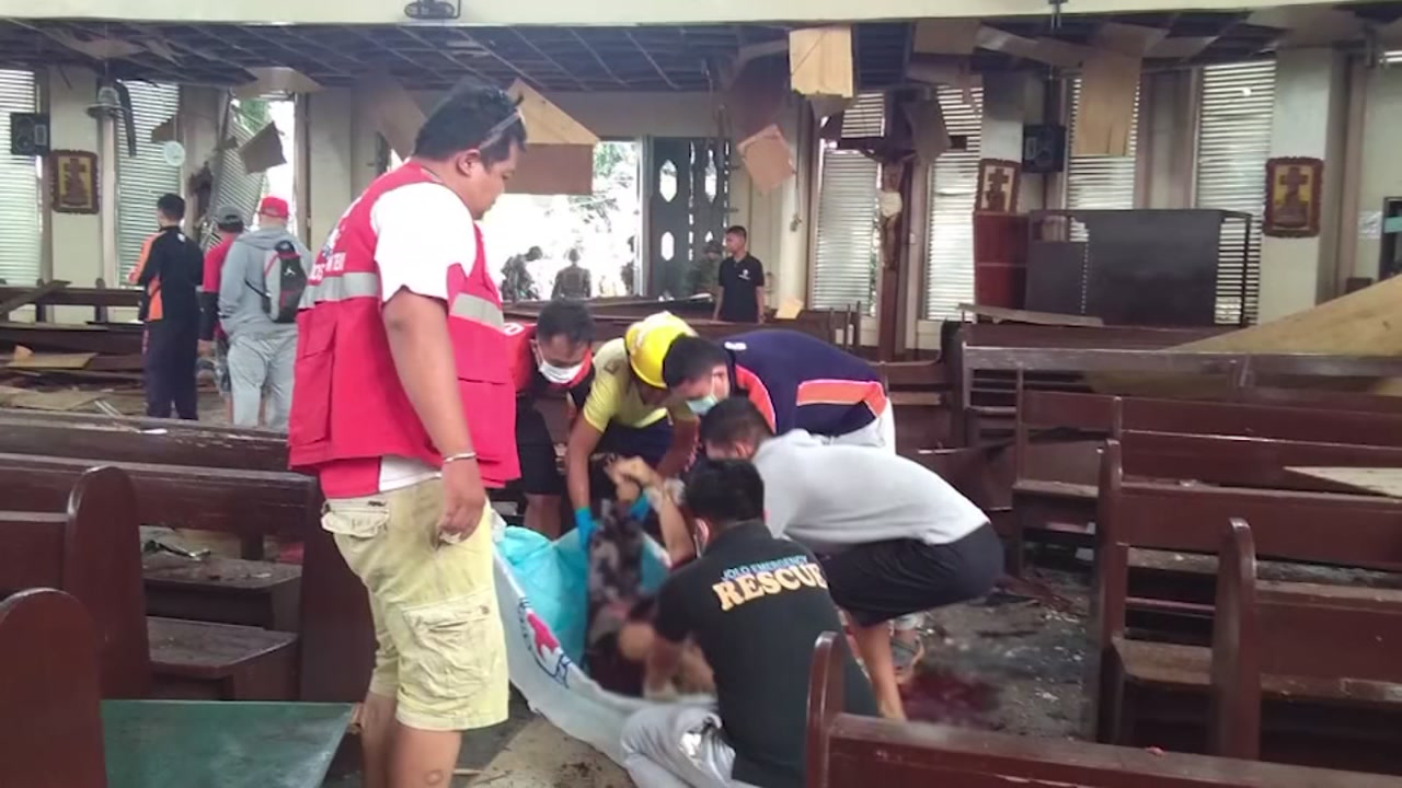Philipino death toll following bombing is on the rise