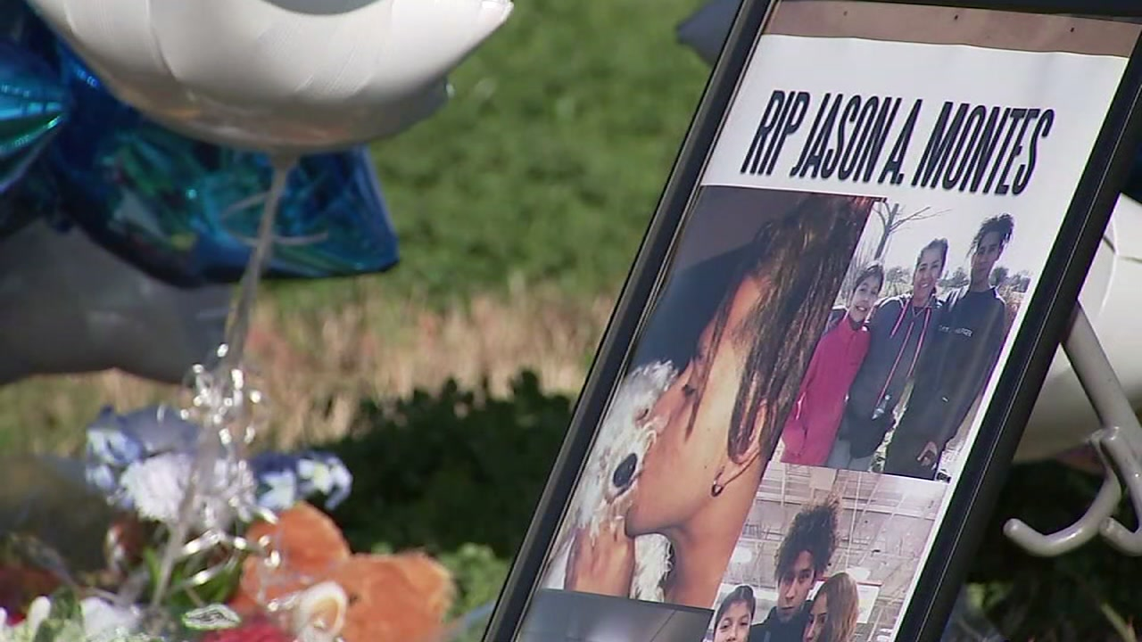 Family and friends of Jason Montes gathered Sunday afternoon to remember the 17-year-old whose body was found in a pond.