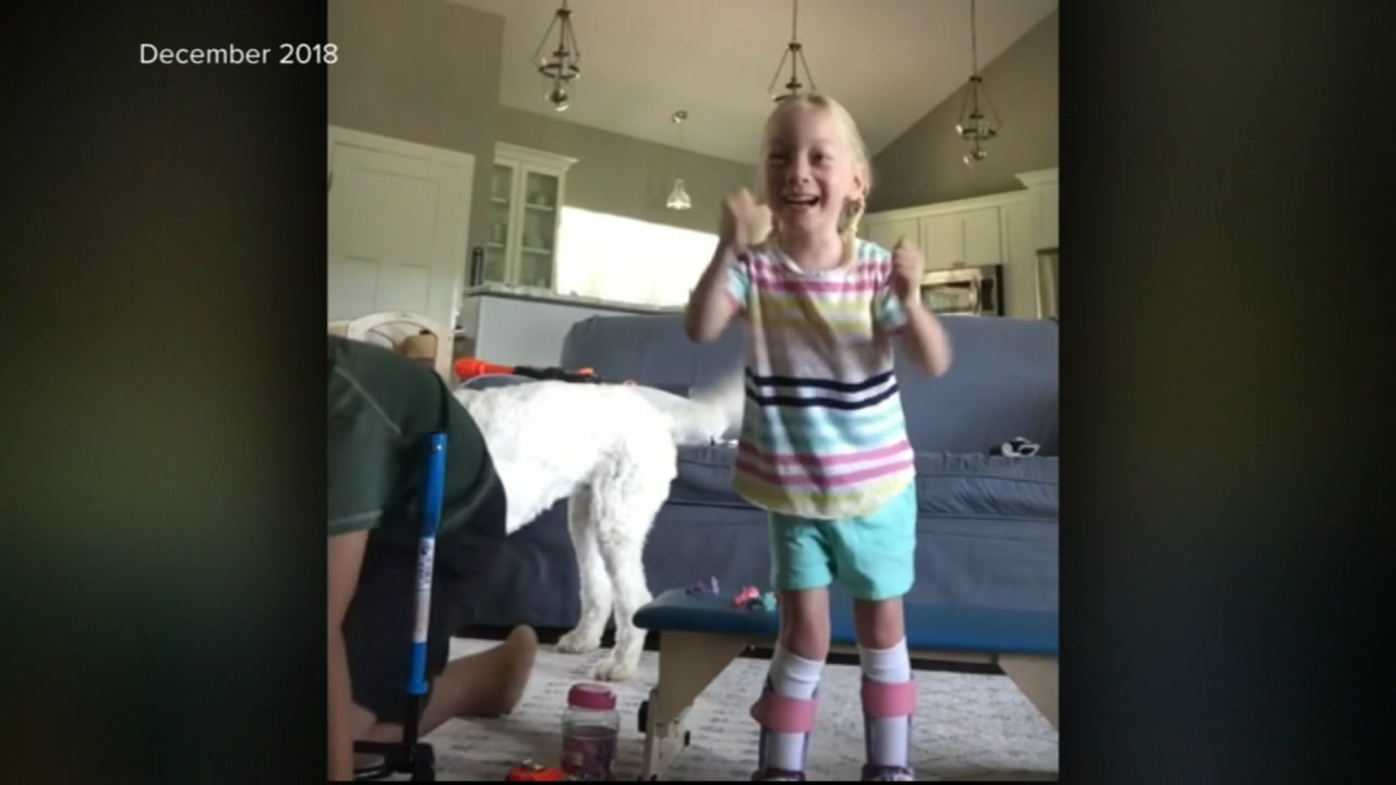 The scammers are using photos of the 5-year-old with cerebral palsy to create fake accounts and collect money.