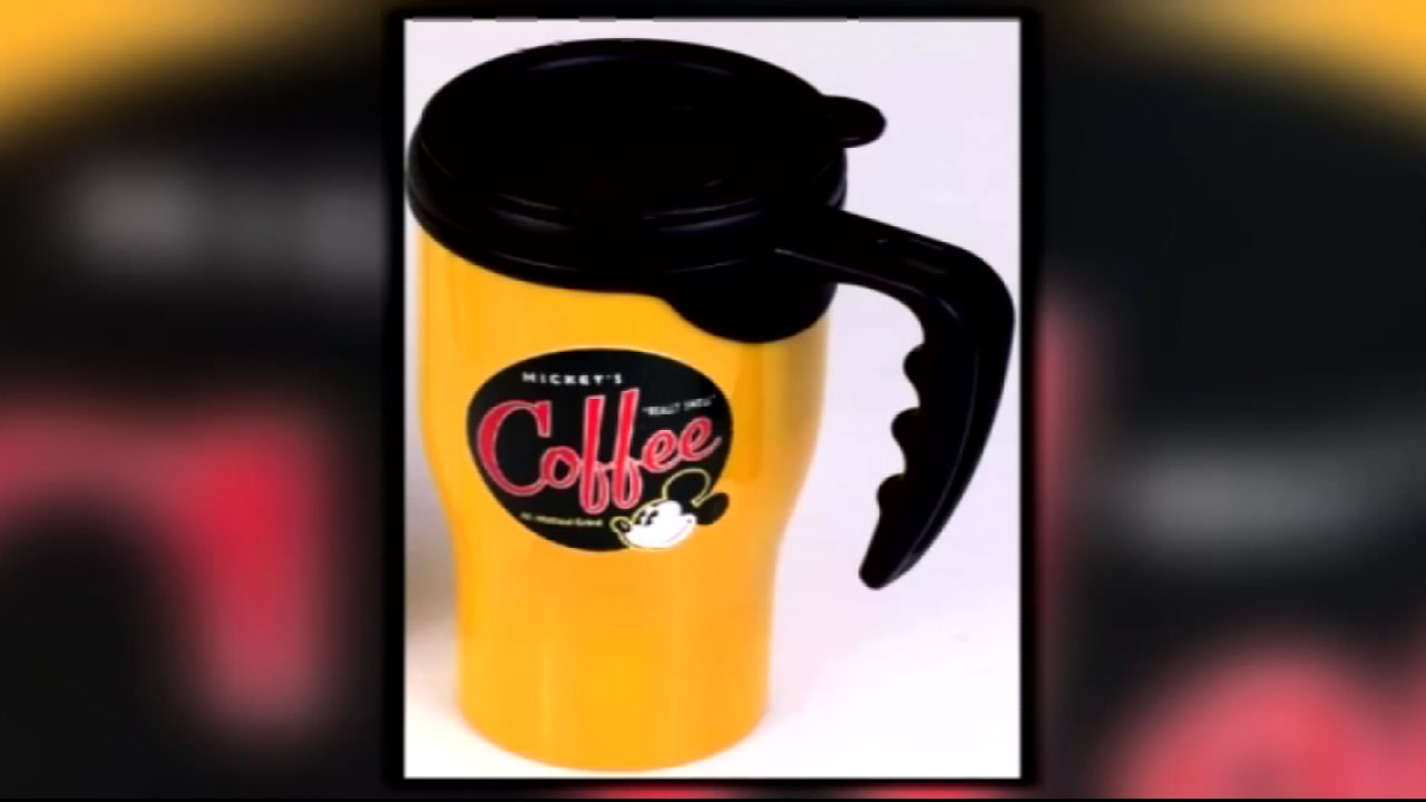 Her son recently sold his car and stashed the cash in a yellow metal travel mug with a Mickey Mouse sticker on it.