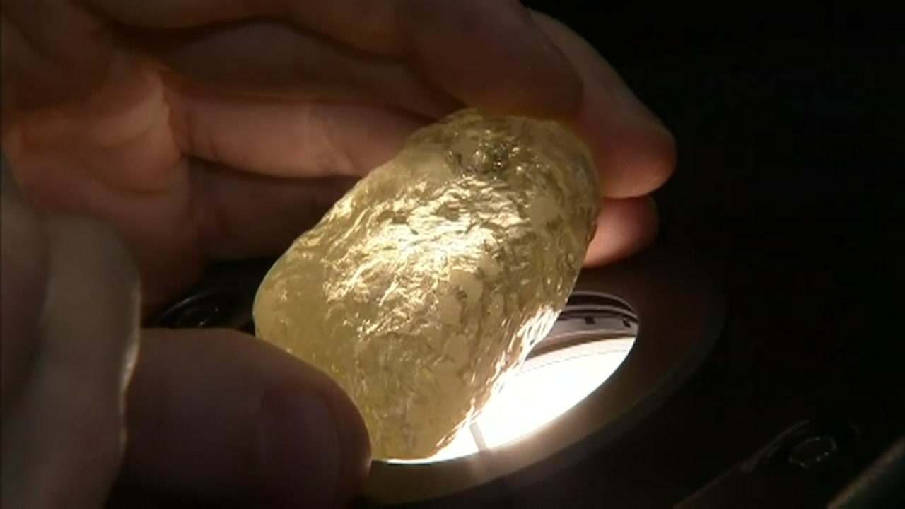 The largest diamond discovered in North America is now dazzling New York City.