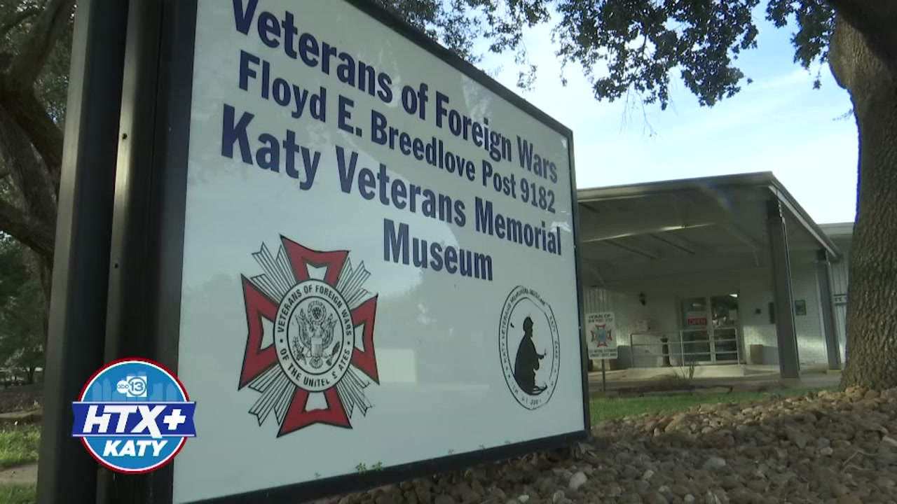 The Veterans Foreign War museum in the Katy is one of the few military museums that is recognized by some of the biggest museum associations in the United States.