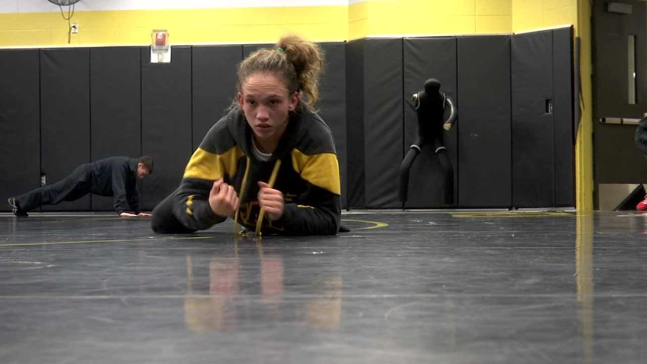 Brianna Beastie Jones has gone from wanting to be the next J.J. Watt to a star wrestler for Klein Oak High School.