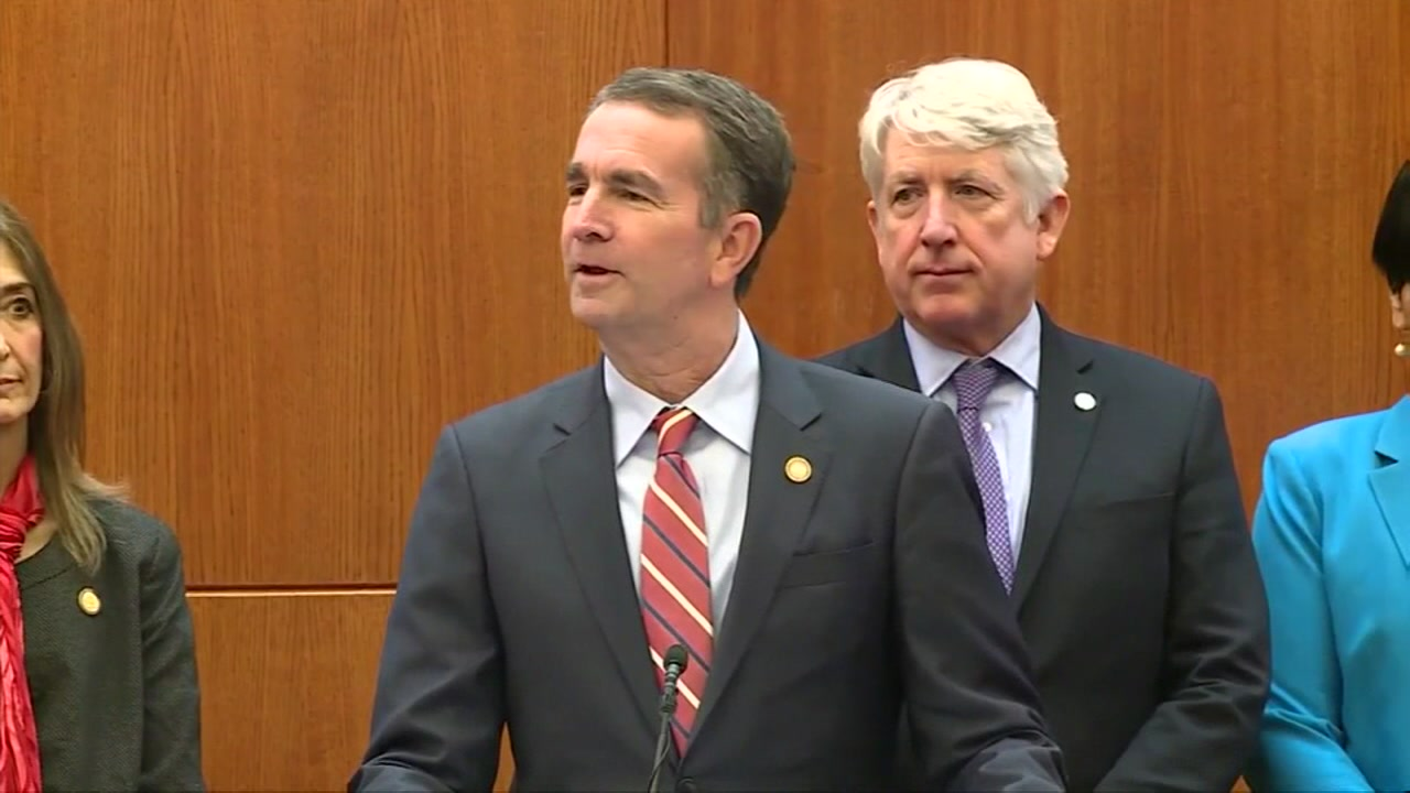 Governor of Virginia may resign