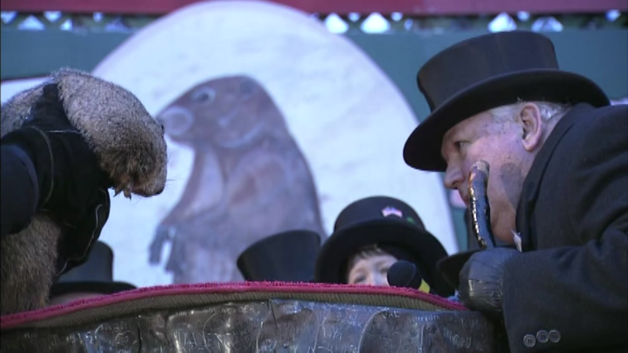 Its Groundhog Day! Punxsutawney Phil did not see his shadow