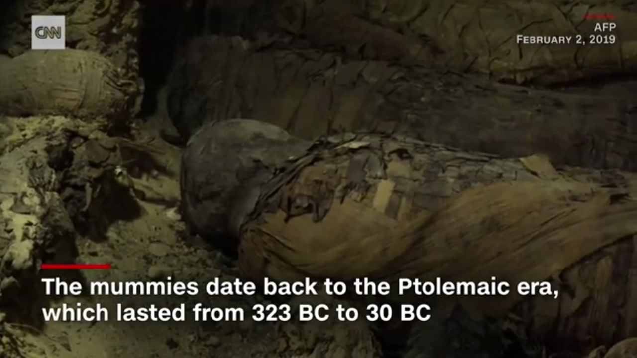 More than 40 mummies discovered in Egypt