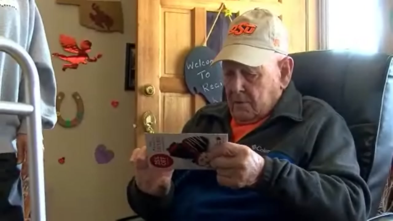 The best part of the 92-year-olds day is getting the mail, but theres rarely anything for him.