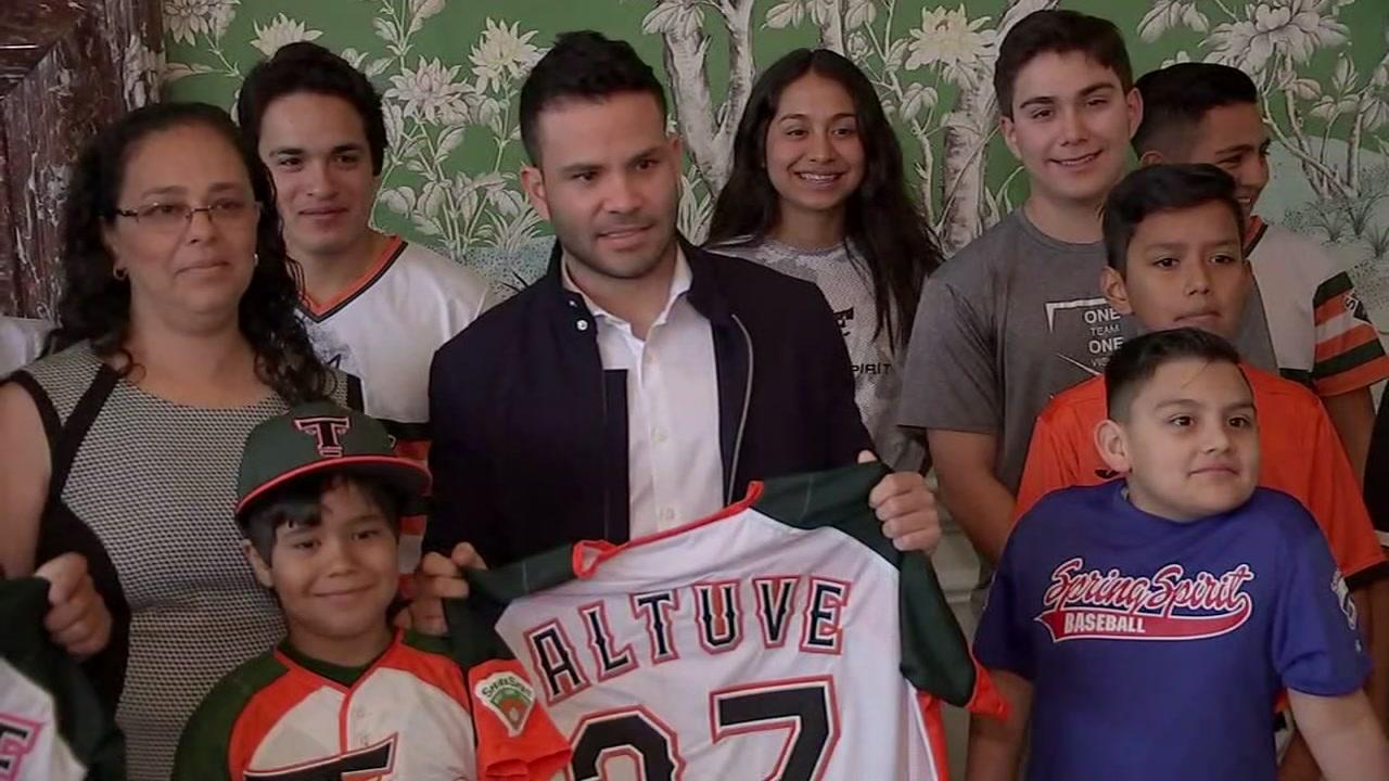 Jose Altuve confident in 2019 Astros