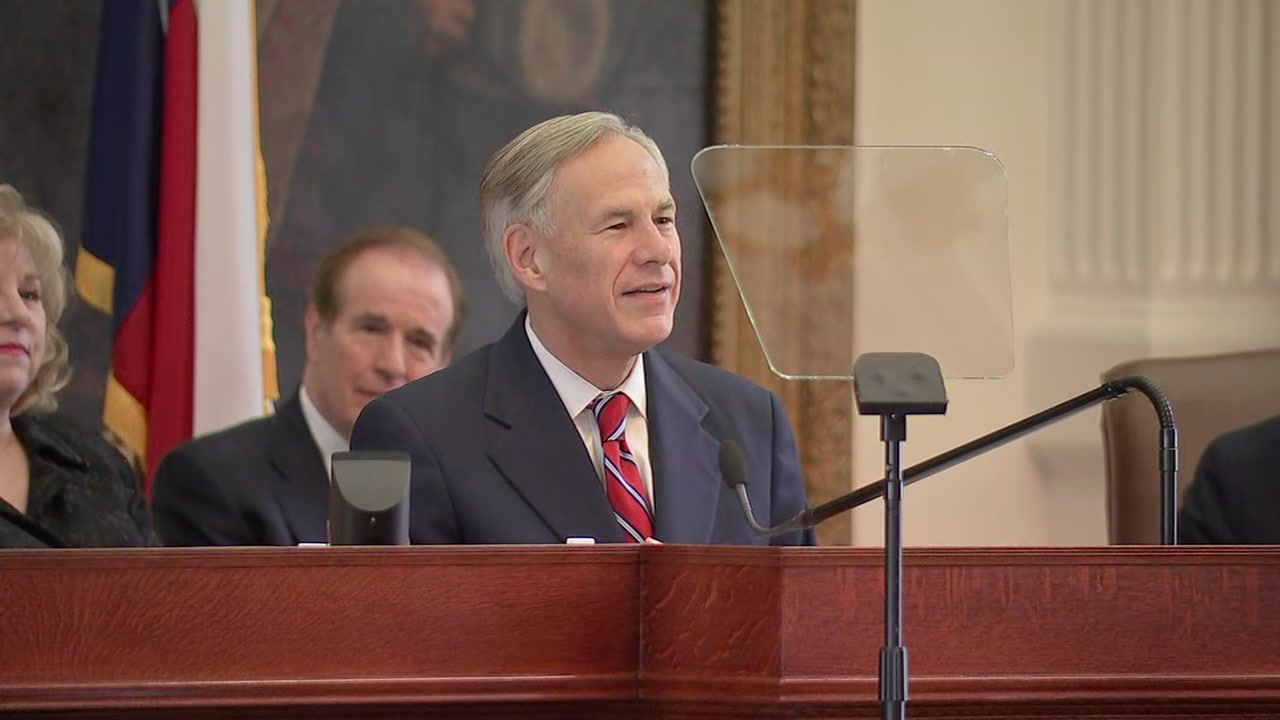 Governor Abbott gives his annual State of the State address