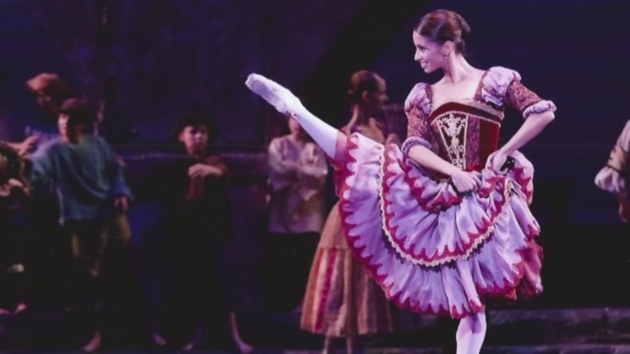 Mother makes history as Houstons first Hispanic principal dancer