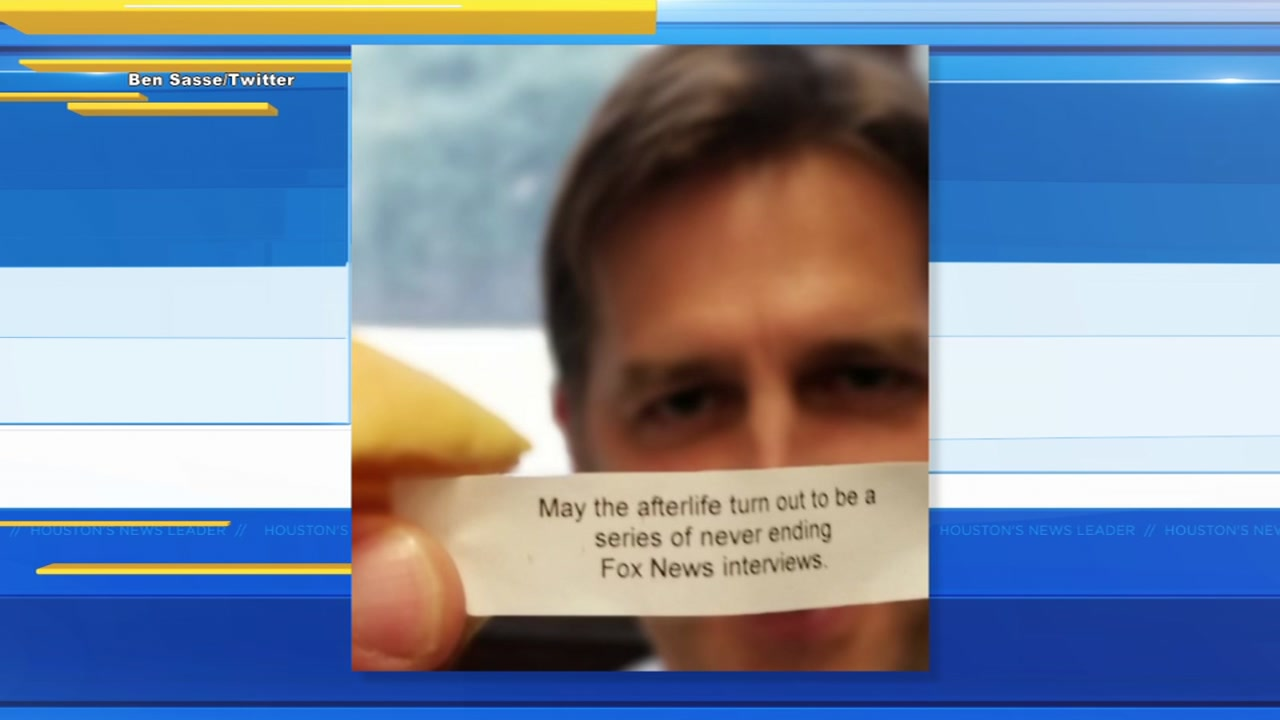 A Nebraska senator has been recieving weird messages in the mail in the form of fortune cookies.