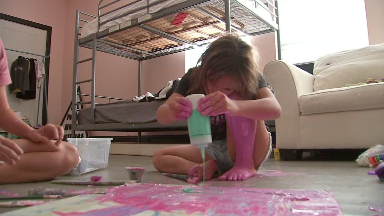 14-year-old with down syndrome finds her voice through art