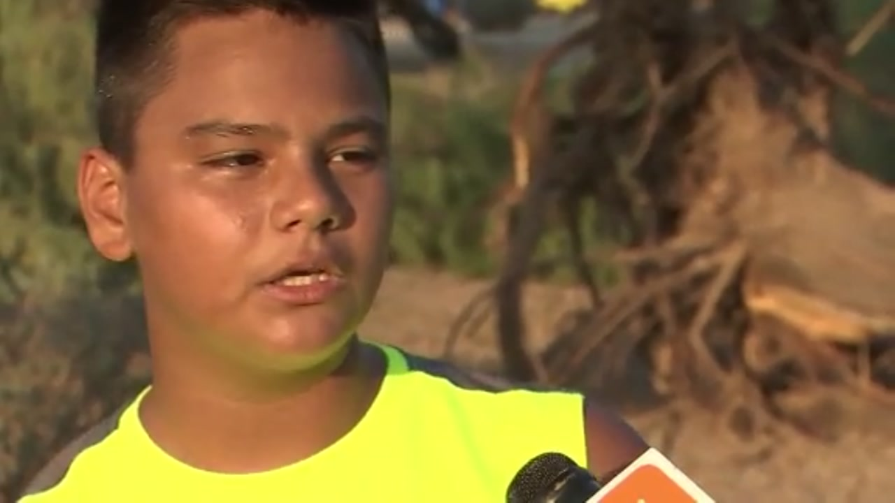 Teen struck by lightning describes what he felt
