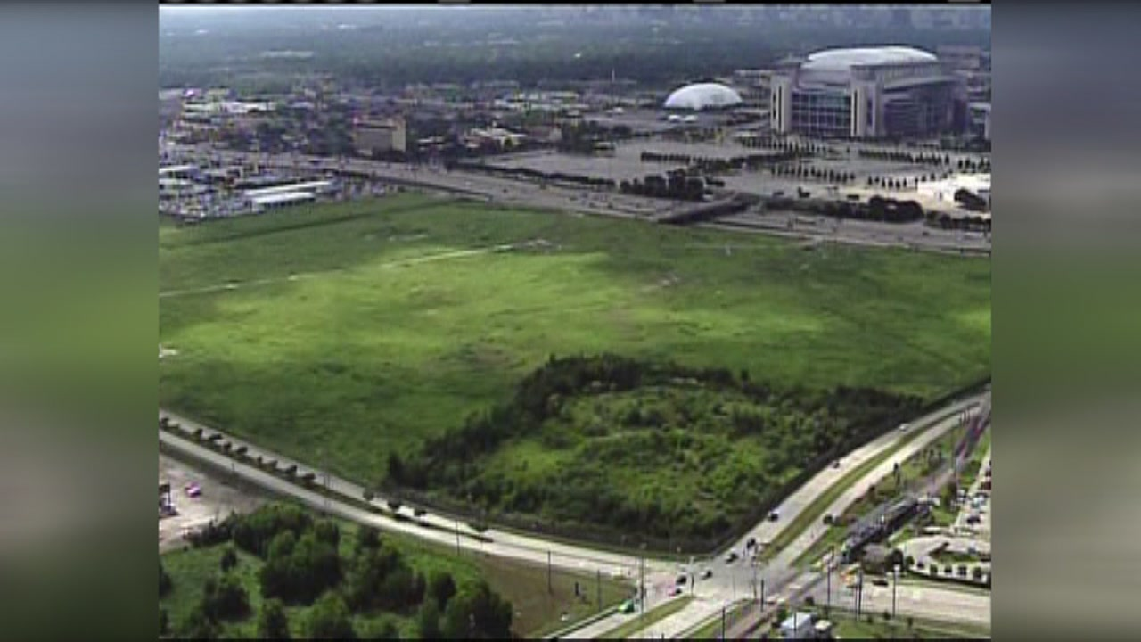 Redevelopment on old Astroworld land in early stages
