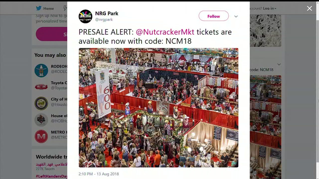 Presale begins for popular Nutcracker Market