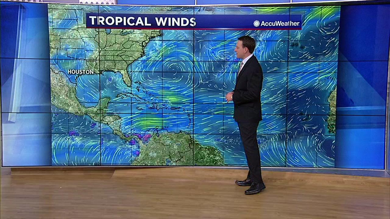 Travis Herzog has an update on the tropics.