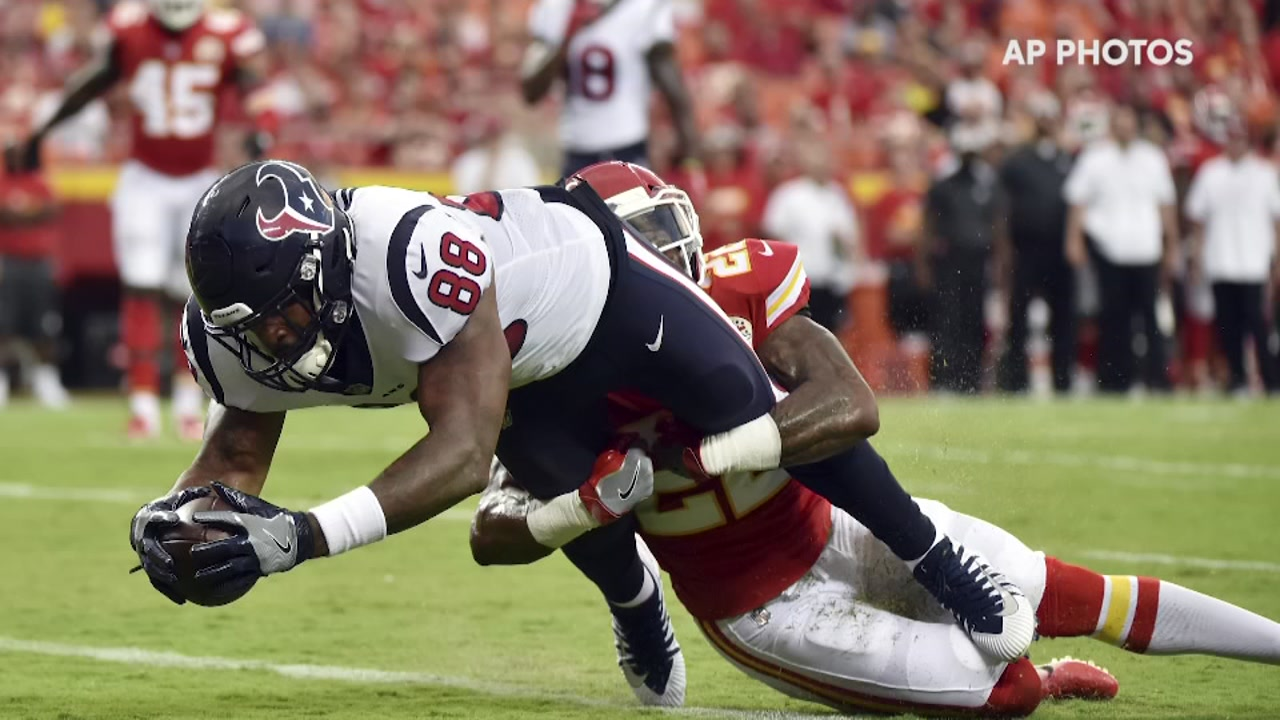 Get to know Texans rookie tight end Jordan Akins