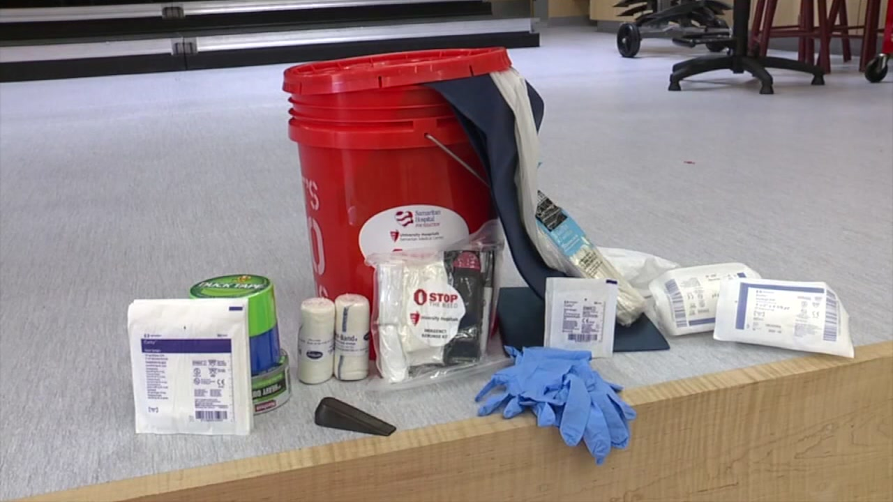 Stop the Bleed kits installed in Ohio schools