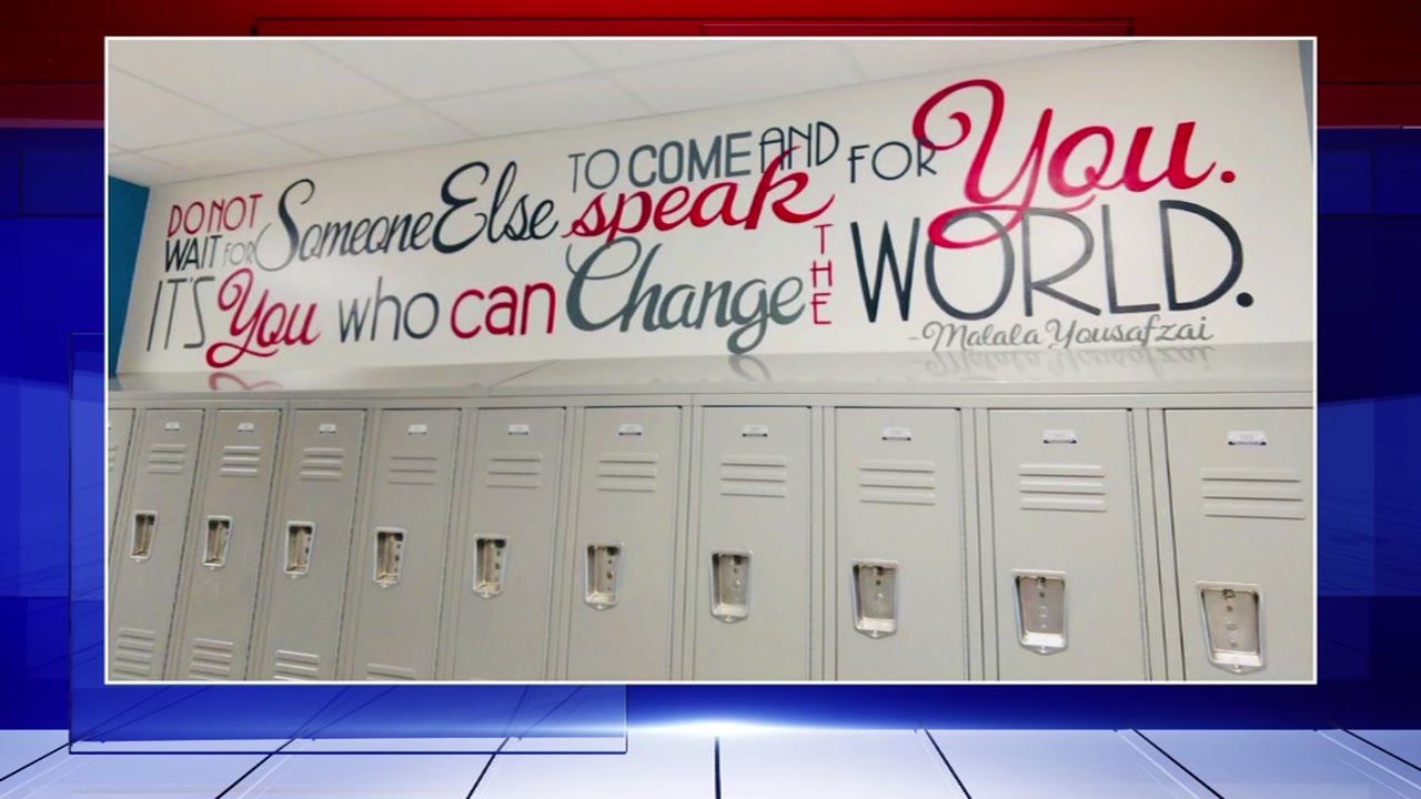 Houston ISD school unveils new quote to replace sexist, misogynistic quote at Gregory-Lincoln Education Center