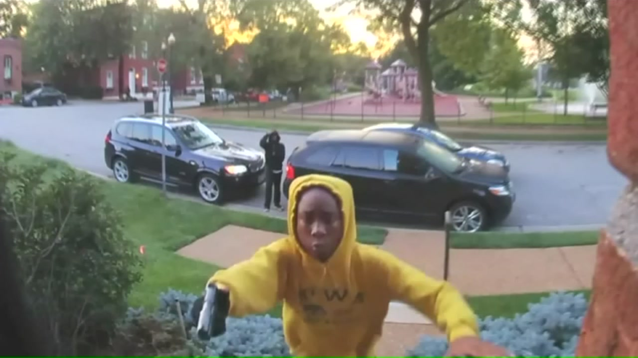 New video shows moments before gunman attacks homeowner