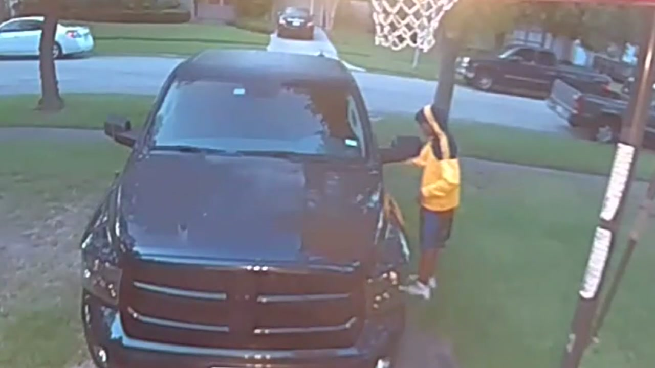 A Robindell family is on edge after a man was caught in their driveway in a disturbing act of vandalism.