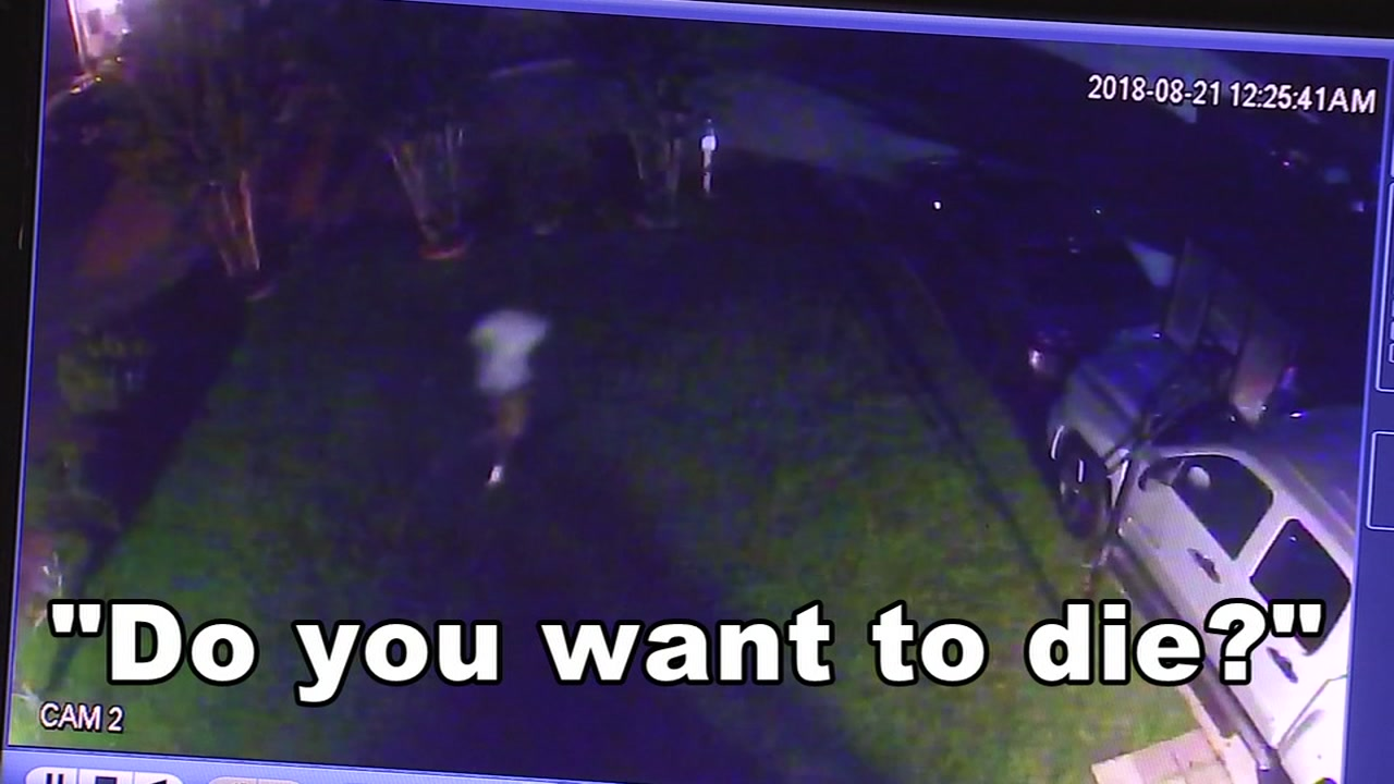A $1,000 reward is being offered by a man after his 67-year-old neighbor was robbed at gunpoint.