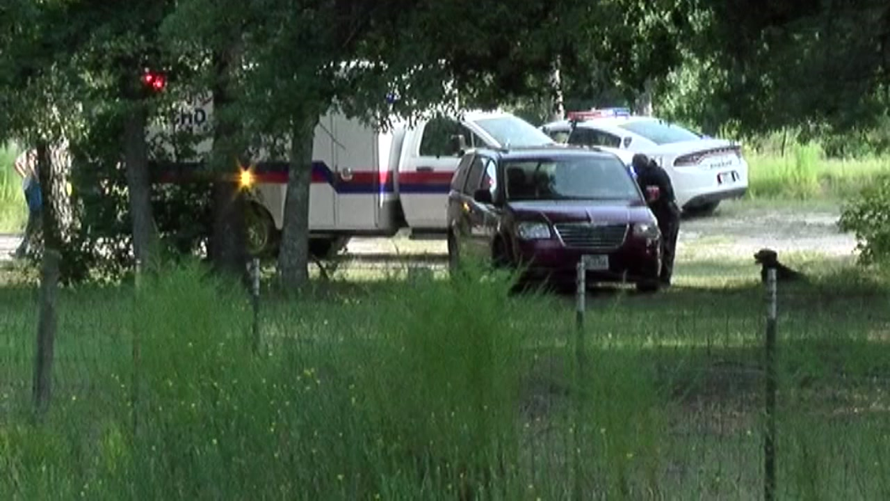 Deputies are investigating after a child was found in a Montgomery County pond.
