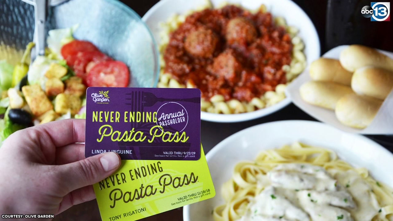 Olive Garden to offer first-ever Annual Pasta Pass