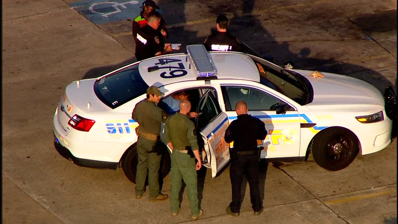 Man arrested outside Burger King in NW Harris County