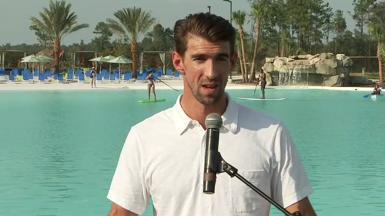 ABC13s Katherine Marchand has more on Michael Phelps role in an opening ceremony of a 5 million gallon lagoon in Humble.