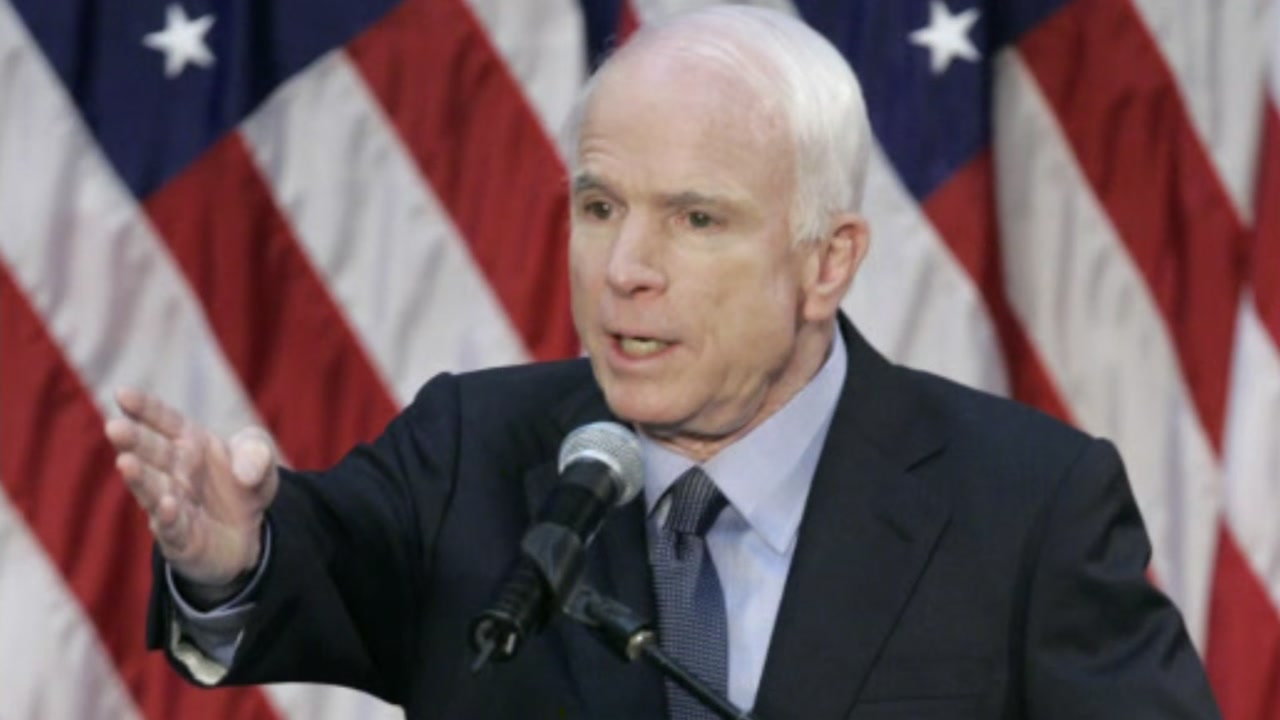 Former presidential candidate and Navy pilot, John McCain passed away after battling brain cancer.