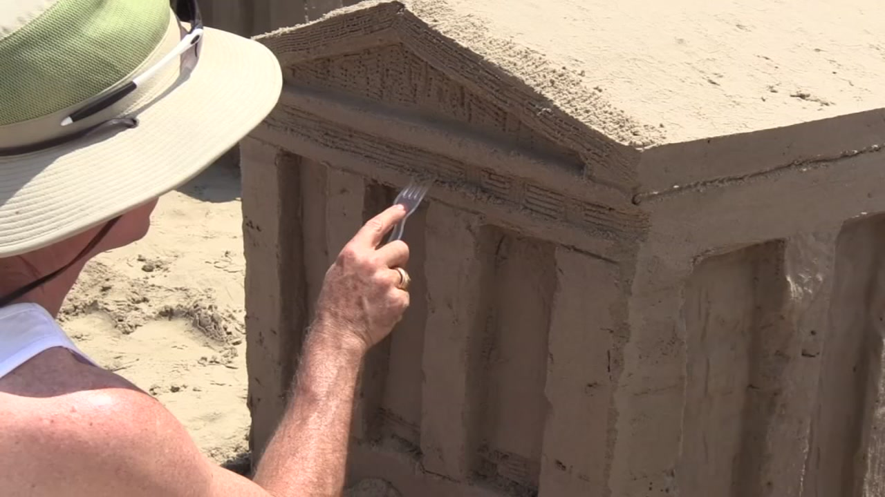 32nd Annual American Institute of Architects Sandcastle Competition brings beach-filled fun to Galveston